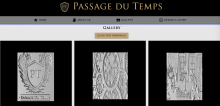 Front page for passage du temps